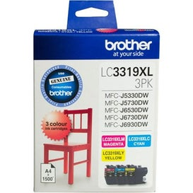 BROTHER LC3319XL Colour 3 Pack Extra Large  OEM