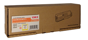 OKI C532 Yellow Toner OEM