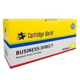 CW Brand CF402A (201A) Yellow Standard Capacity