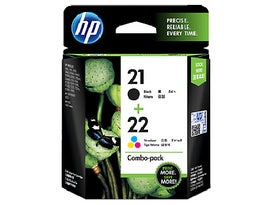 HP21 Black HP22 Colour Combo OEM