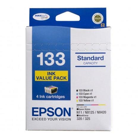 EPSON 133 Value 4 Pack OEM