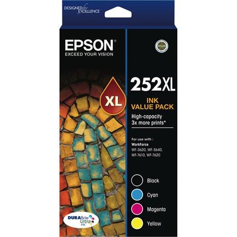 EPSON 252XL Extra Large Value Pack OEM