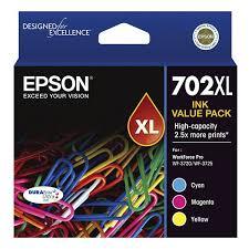 EPSON 702XL Colour Value Pack OEM
