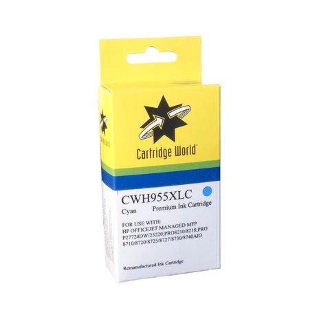 CW Brand 955XLC L0S63AA Cyan  Extra Large