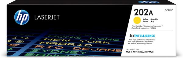 HP CF502A (202A) Yellow Standard Capacity OEM