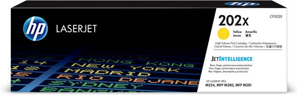 HP CF502X (202X)  Yellow High Capacity OEM