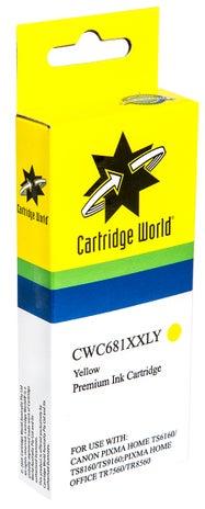 CW Brand CLI681XXL Yellow Extra Extra Large