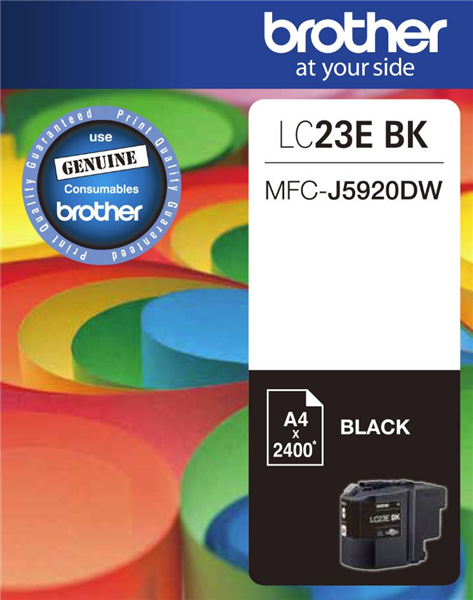 BROTHER LC23E Black OEM