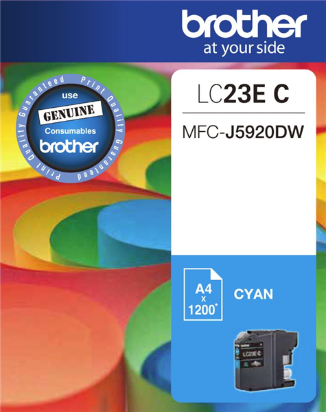 BROTHER LC23E Cyan OEM
