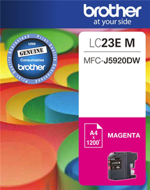 BROTHER LC23E Magenta OEM