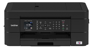 Brother MFCJ491DW 12/6ipm Colour Inkjet MFC Printer WiFi