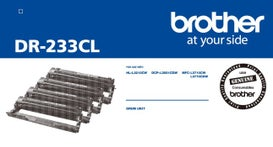 BROTHER DR233CL 1 Each of BK-C-M & Y