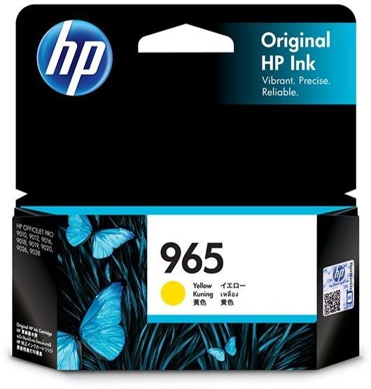 HP965Y 3JA79AA Yellow OEM