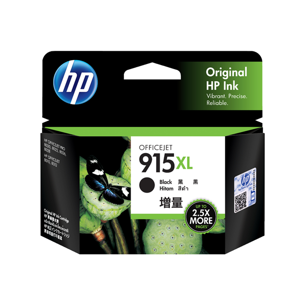 HP915XLB 3YM22AA Black Extra Large OEM