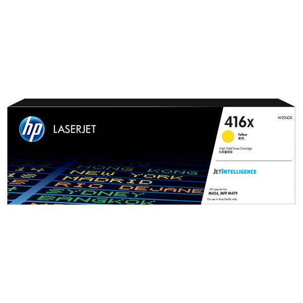 HP W2042X (416X)  Yellow High Capacity OEM