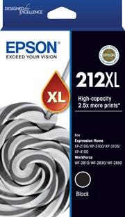 EPSON 212XL Black Extra Large OEM