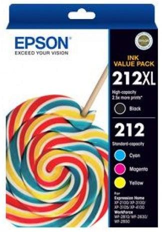 EPSON 212 XL Black & Standard Colour Pack OEM