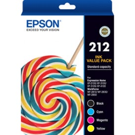 EPSON 212 Four Ink Value Pack OEM