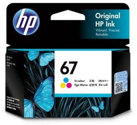 HP67 3YM55AA Tri Colour OEM