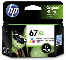 HP67XLC 3YM58AA Tri- Colour Extra Large OEM