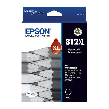 EPSON 812XL Black Extra Large OEM
