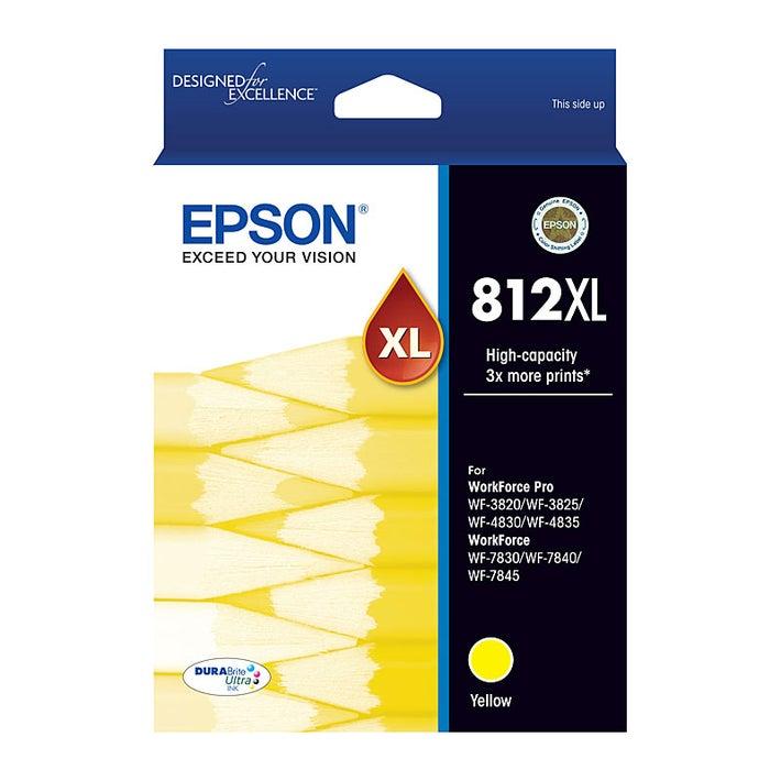 EPSON 812XL Yellow  Extra Large OEM