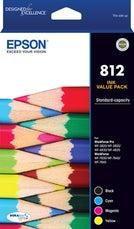 812 Four Ink Value Pack