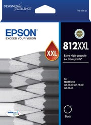 EPSON 812XXL Black Extra Extra Large OEM